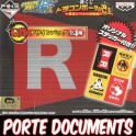 ICHIBAN KUJI DRAGON BALL PORTE-DOCUMENTS RUBAN ROUGE