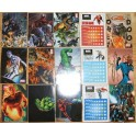 MARVEL HEROES 31 STICKERS