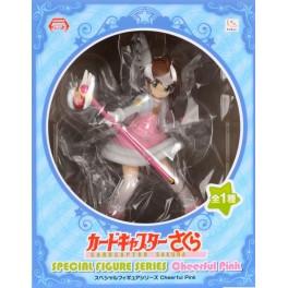 CARD CAPTOR SAKURA FIGURE - CHEERFUL PINK SAKURA