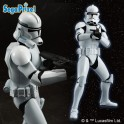 STAR WARS PM FIGURE - CLONE TROOPER I