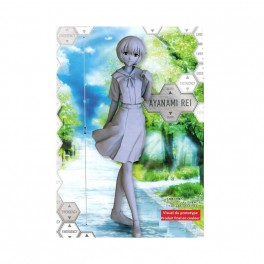 REBUILD OF EVANGELION PM FIGURE - REI AYANAMI UNIFORM vers.