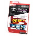 RED COMIC BOOK DIVIDERS