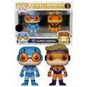 POP ! DC COMICS 2 PACK EXCLU - BLUE BEETLE & BOOSTER GOLD