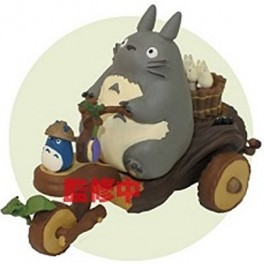 MY NEIGHBOR TOTORO PULLBACK TOY - TOTORO TRICYCLE