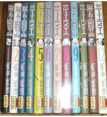 DEATH NOTE 1 to 12 COMPLETE...