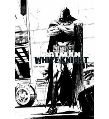 BATMAN - WHITE KNIGHT B&W