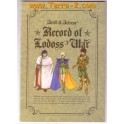 RECORD OF LODOSS WAR NOTEBOOK 0989